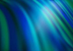 padrão de vetor azul escuro e verde com formas de lâmpada.