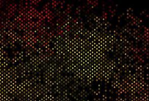 fundo laranja escuro do vetor com bolhas.