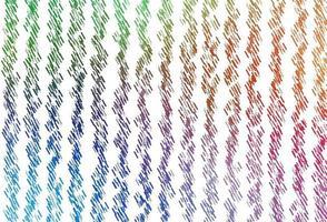 luz multicolor, fundo do vetor do arco-íris com linhas retas.