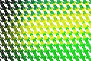de fundo vector verde e amarelo claro com formas líquidas.