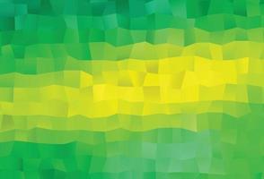 textura de baixo poli de vetor verde e amarelo claro.