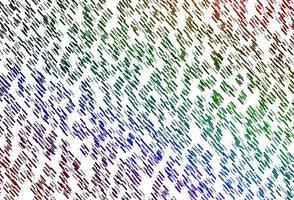 luz multicolorida, padrão de vetor de arco-íris com linhas estreitas.