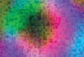 luz multicolor, fundo do vetor do arco-íris com retângulos.