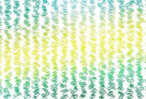 layout de vetor verde e amarelo claro com linhas planas.