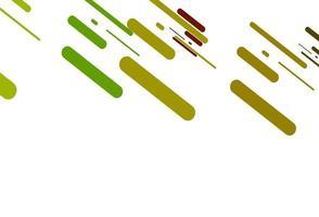 modelo de vetor verde claro e vermelho com varas repetidas.