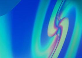 padrão de vetor azul claro com formas de bolha.