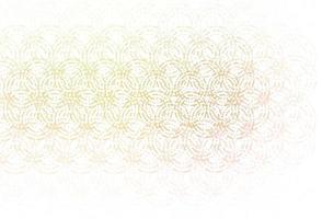 textura de vetor verde e vermelho claro com discos.