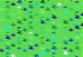 modelo de vetor verde claro com varas repetidas.