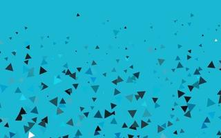 padrão de vetor azul claro em estilo poligonal.