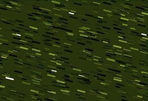 padrão de vetor verde claro com linhas estreitas.