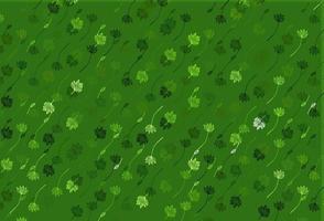 textura de doodle de vetor verde claro.