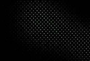 modelo de vetor verde escuro com símbolos de pôquer.