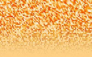 padrão sem emenda de vetor amarelo e laranja claro em estilo poligonal.