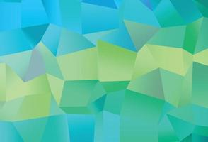 textura vector azul claro, amarelo com estilo retangular.