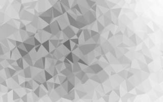 layout abstrato de polígono de vetor cinza claro, prata clara.