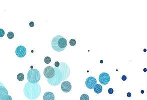 textura vector azul claro com discos.