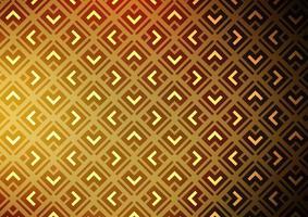 de fundo vector amarelo e laranja escuro com linhas, losangos.