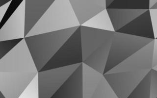 prata clara, cinza padrão de triângulo embaçado de vetor. vetor