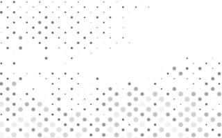 modelo de vetor cinza claro prata com círculos.