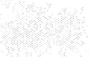 pano de fundo de vetor cinza claro, prata com pontos.