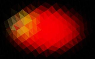 padrão poligonal de vetor vermelho claro.