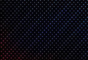 capa de vetor azul e vermelho escuro com símbolos de aposta.