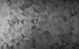 layout abstrato de polígono de vetor cinza escuro, prata escura.