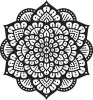 ícone do símbolo da mandala vetor