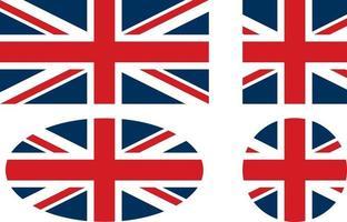 bandeira do reino unido vetor