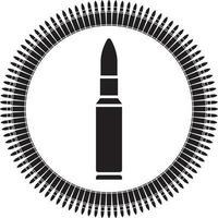 ícone de cinto de bala vetor