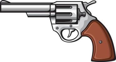 arma de fogo ou pistola vetor