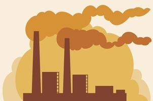 ícone de planta industrial vetor