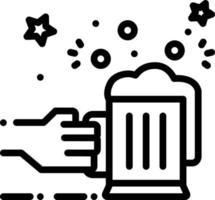 ícone de linha para allegro vetor