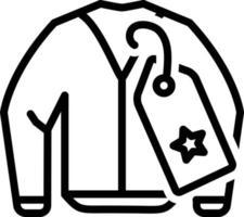 ícone de linha para marca vetor