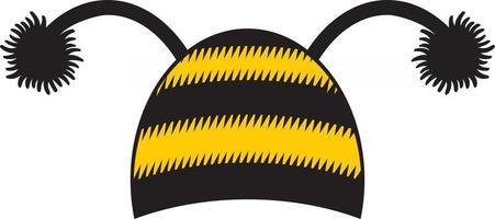 ícone de boné de abelha vetor