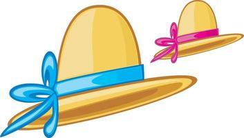 ícone de chapéu de mulher vetor