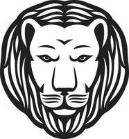 ícone de cabeça de leão vetor