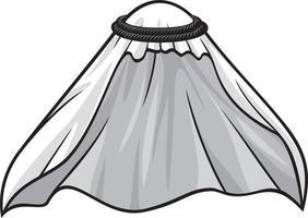 vestido de cabeça muçulmano ou árabe vetor