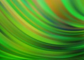 modelo de vetor verde claro com linhas abstratas.