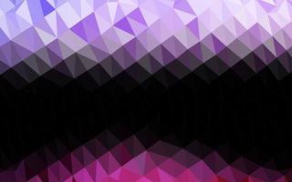 luz-de-rosa, azul capa poligonal abstrata de vetor. vetor