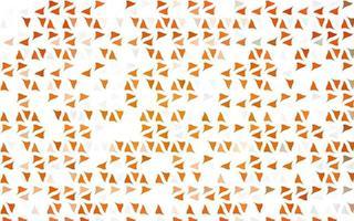 capa de vetor laranja claro em estilo poligonal.