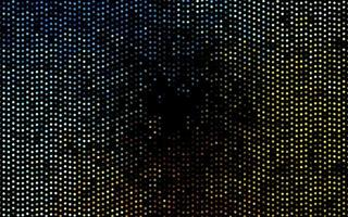 pano de fundo vector azul e amarelo escuro com pontos.