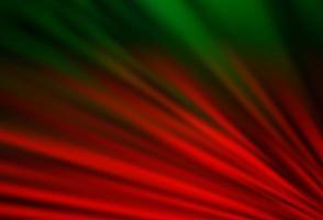 pano de fundo vector verde e vermelho escuro com linhas longas.