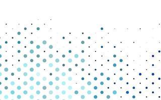 pano de fundo azul claro do vetor com pontos.