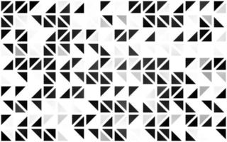 prata clara, capa sem emenda de vetor cinza em estilo poligonal.