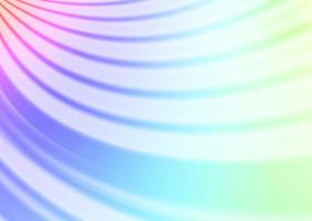 luz multicolor, vetor de arco-íris turva modelo abstrato de brilho.