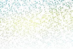 pano de fundo vector azul e amarelo claro com pontos.