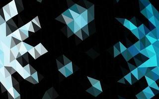 layout abstrato do polígono do vetor azul claro.