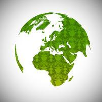 Mundo verde, vetor