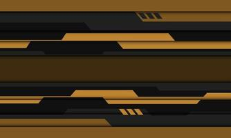 abstrato amarelo cinza preto cibernético desenho geométrico futurista moderno vetor